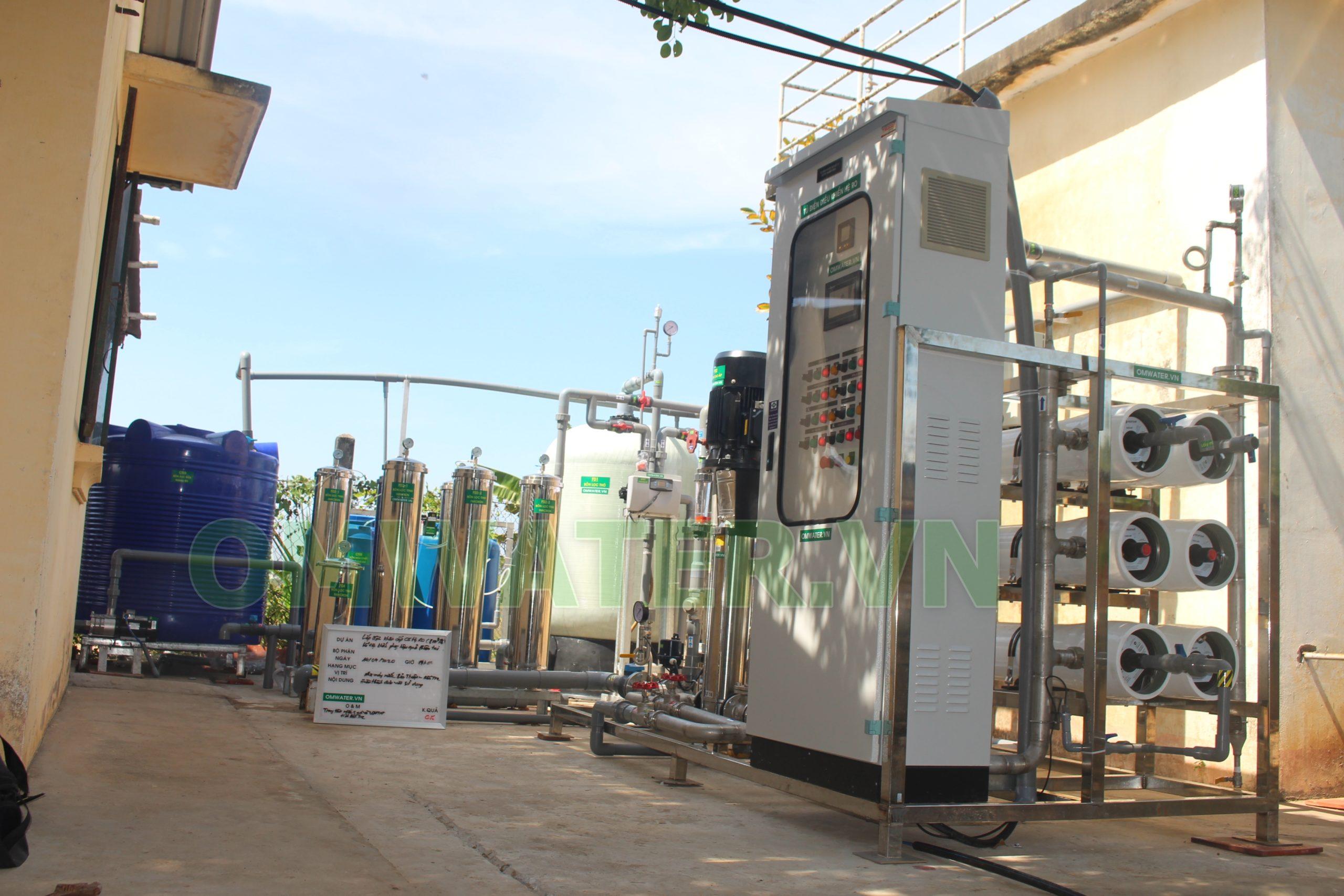 Hệ Thống Xử Lý Nước Mặn Huyện Bảo Thuận - Bến Tre